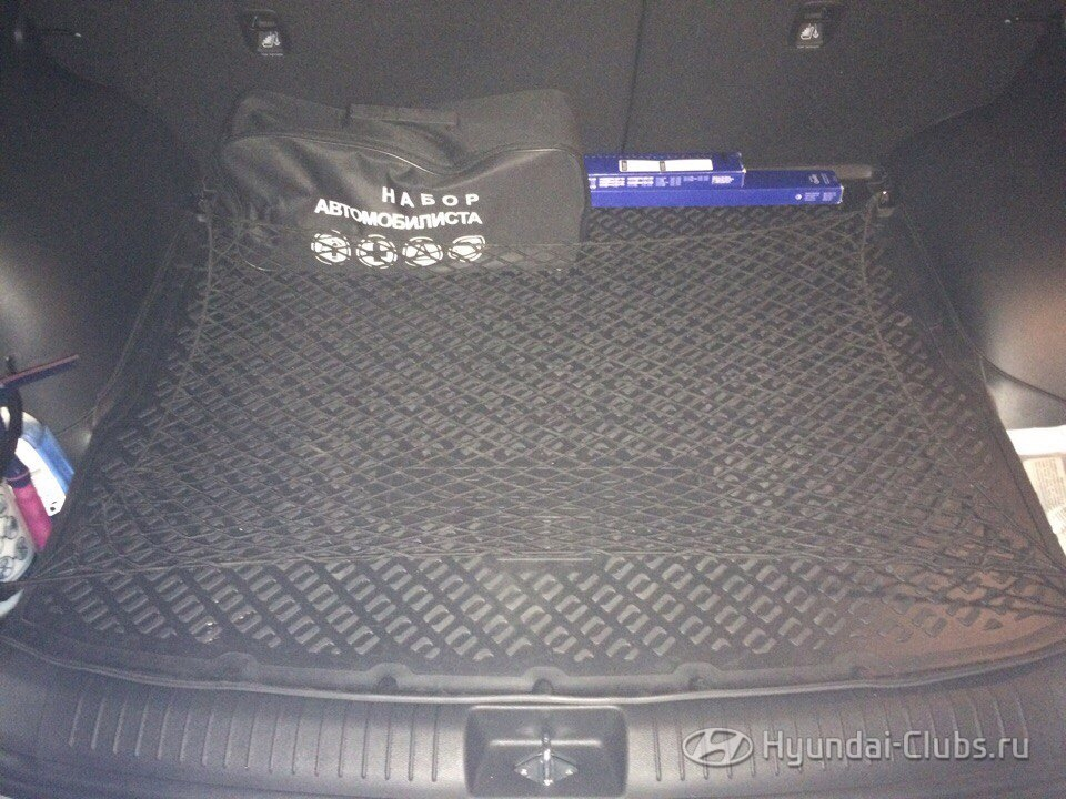 Creta Club: Сетка в багажник