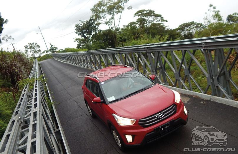 Hyundai Creta спереди