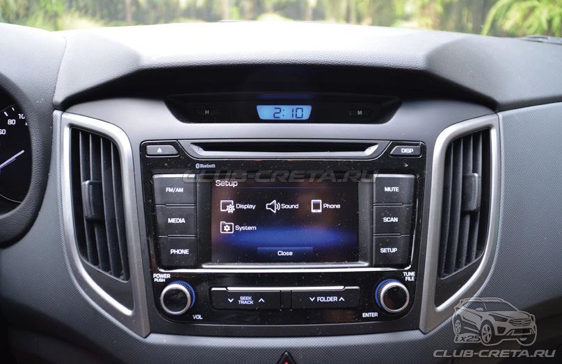 Мультимедия Hyundai Creta